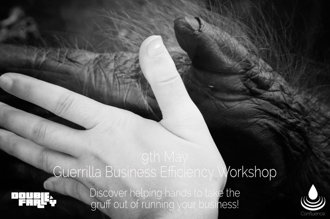 Guerilla Business Efficiency workshop poster